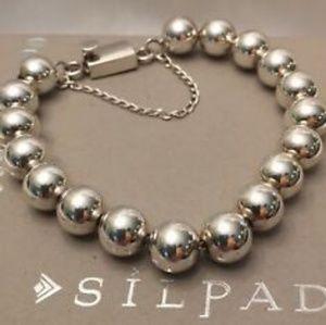 Silpada Sterling Bead Ball Bracelet